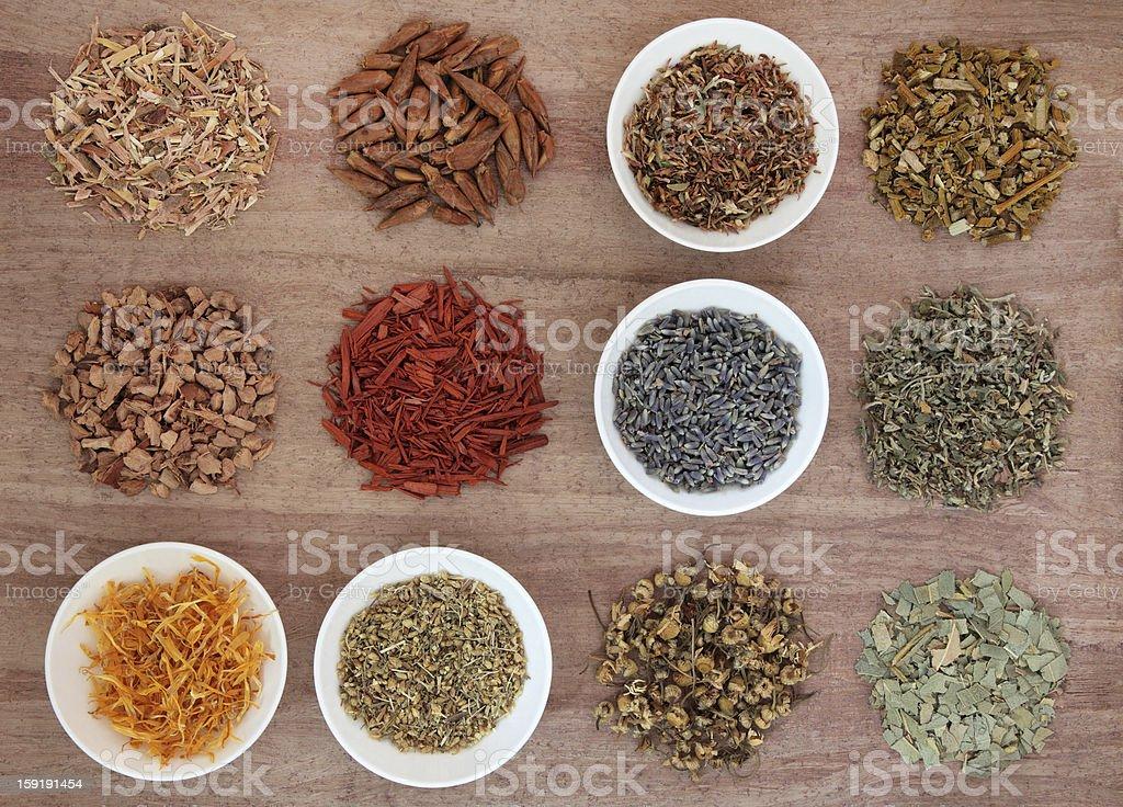 Medicinal and Magical Herbs royalty-free stock photo