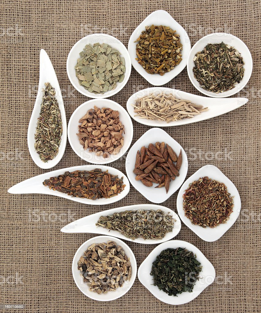Medicinal And Magical Herbs Stock Photo - Download Image Now
