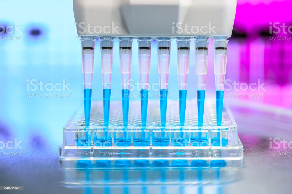 Medicinal test stock photo