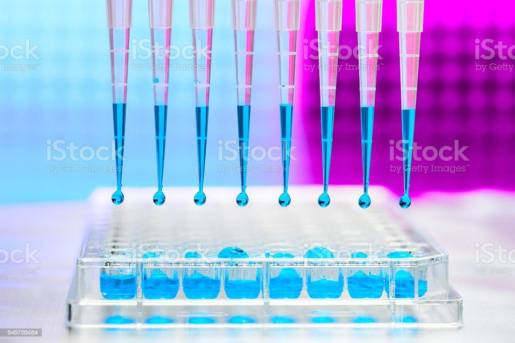 Medicinal test stock photo