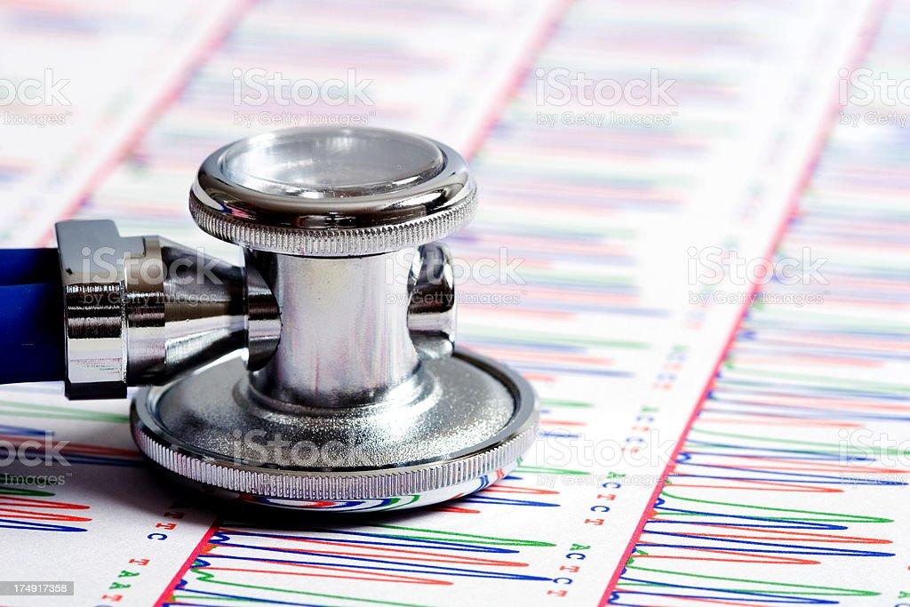 Medicine and genetics royalty-free stock photo