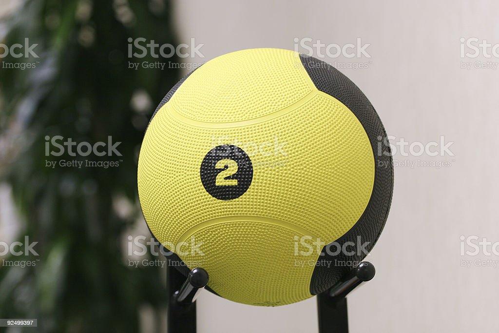 Medicine Ball royalty-free stock photo