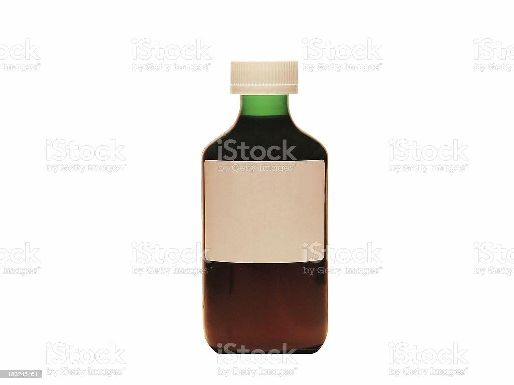 Botella de medicina - foto de stock