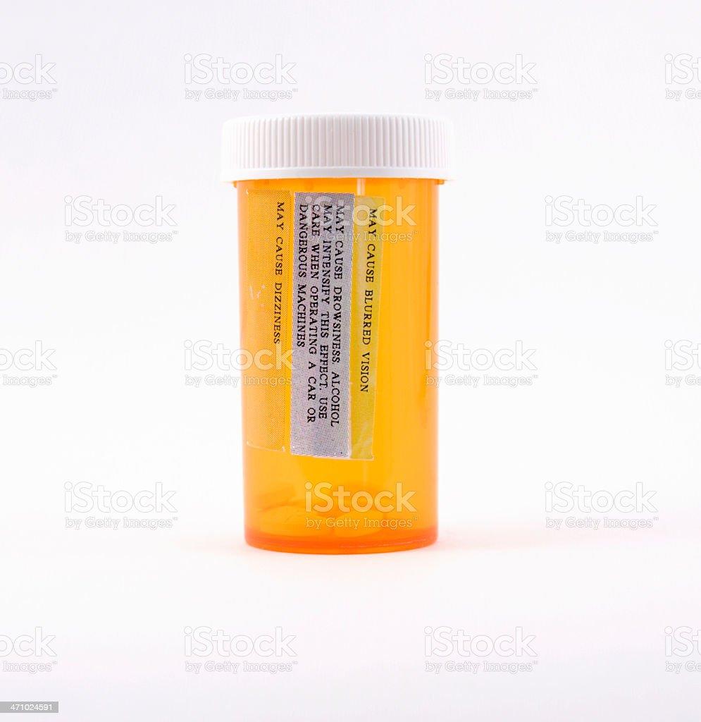 Medicine Bottle royalty-free stock photo