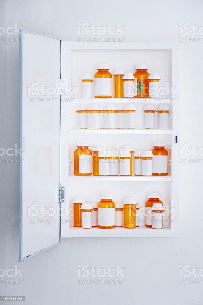 Medicine Cabinet royalty-free stock photo