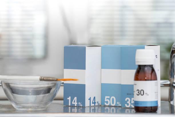 medicine cosmetics cosmetology massage cosmetics personal care cabinet bottles boxes beauty stock photo