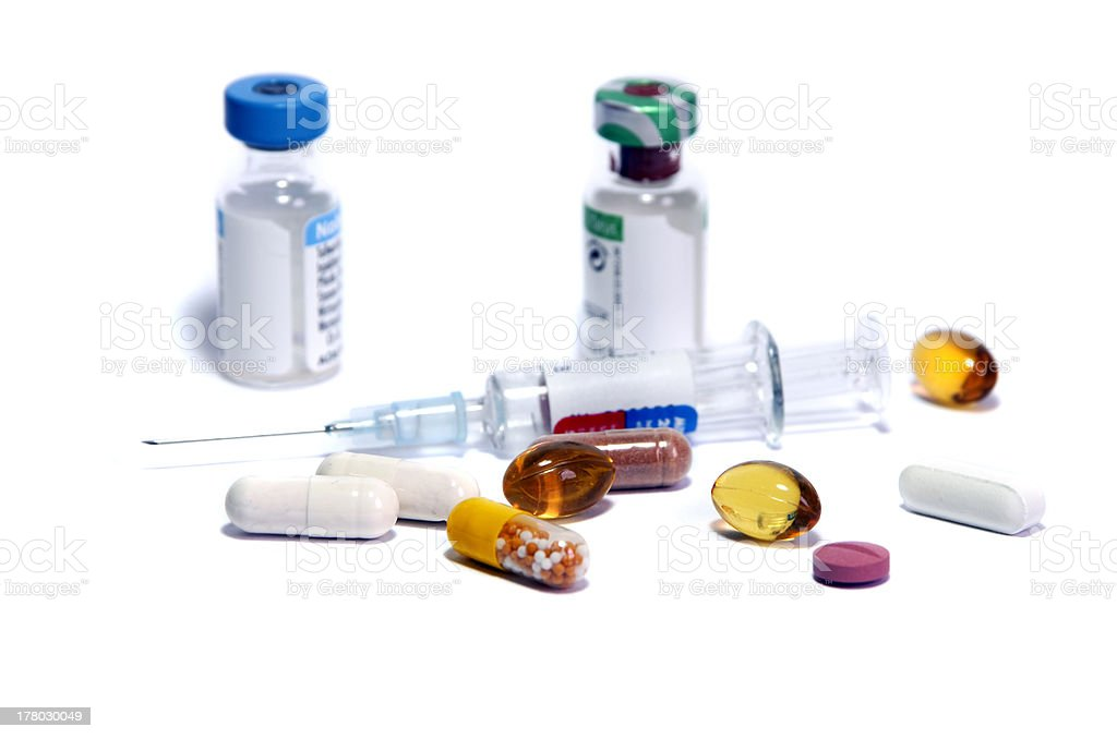 medicine doping royalty-free stock photo