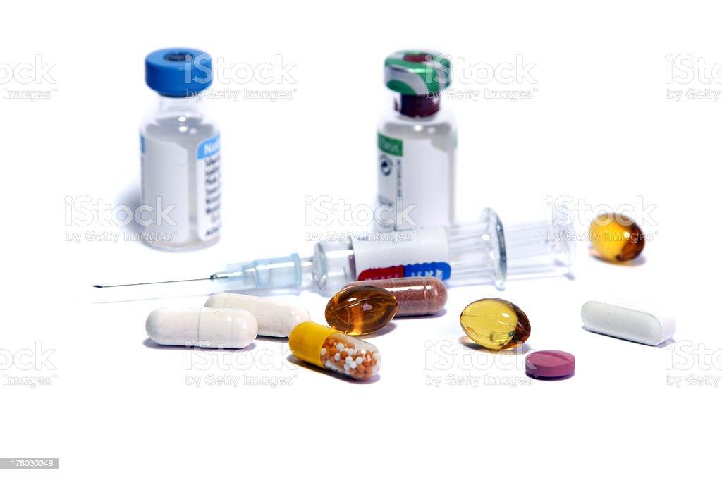medicine doping stock photo