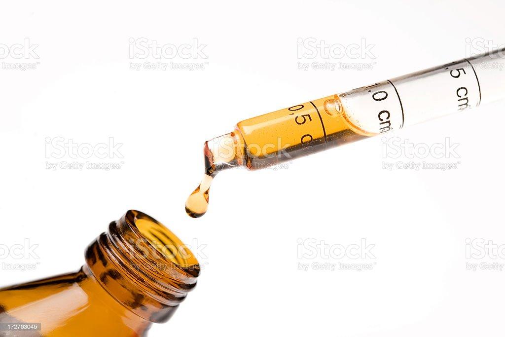Medicine dropper royalty-free stock photo