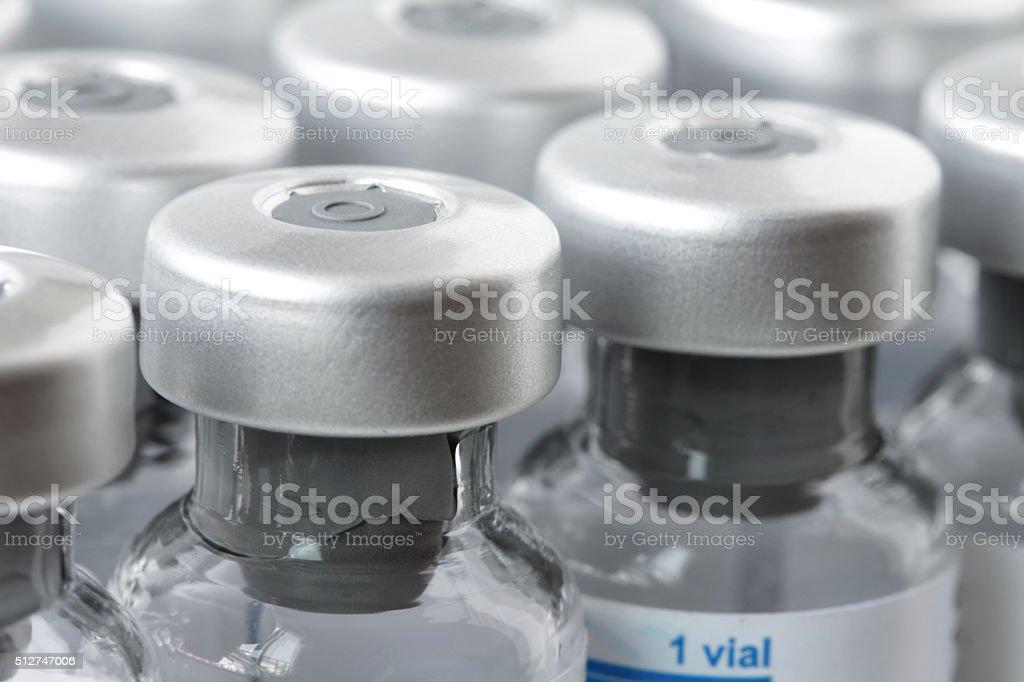 Medizin Glas-Ampullen geschlossen – Foto