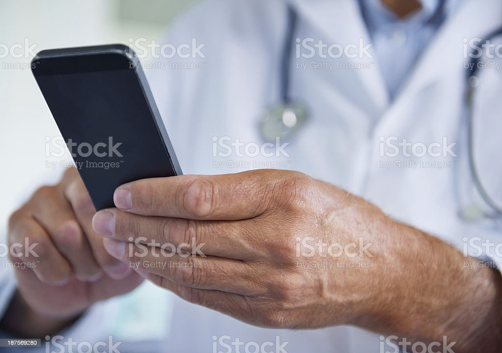 Medicine in the digital age royalty-free stock photo