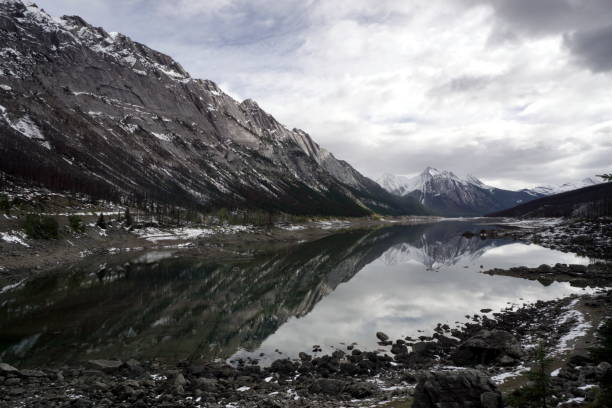 Medicine Lake stock photo