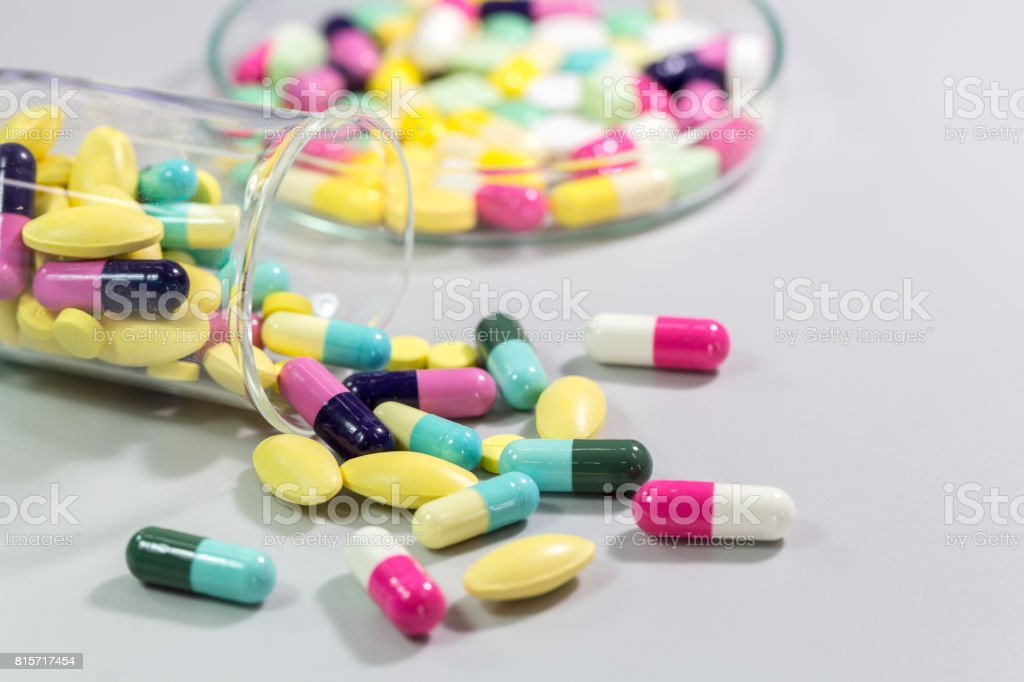 Medicine, pharmaceutics and health care. stock photo