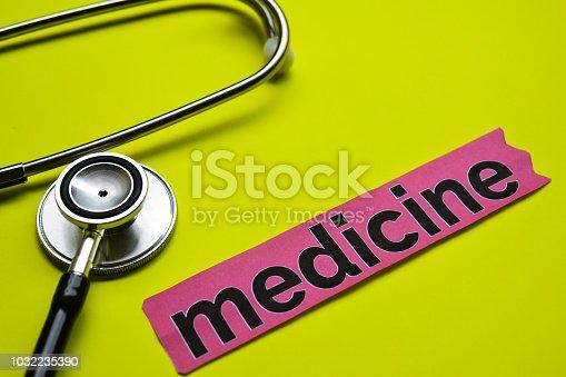 585087100 istock photo medicine 1032235390