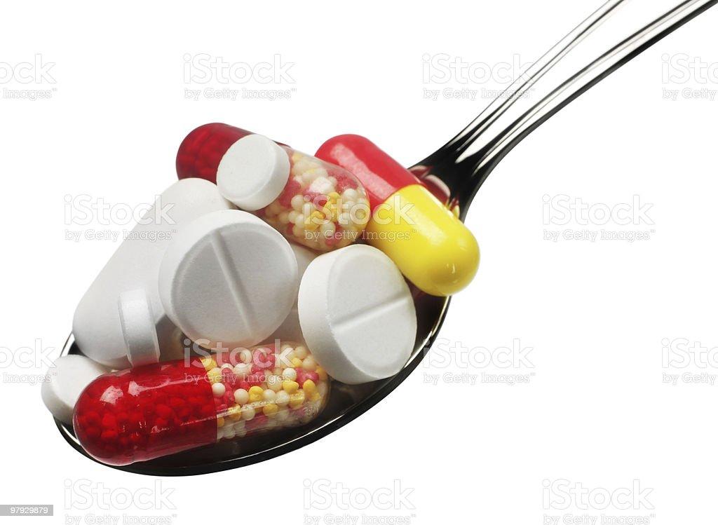 Medicine pill royalty-free stock photo
