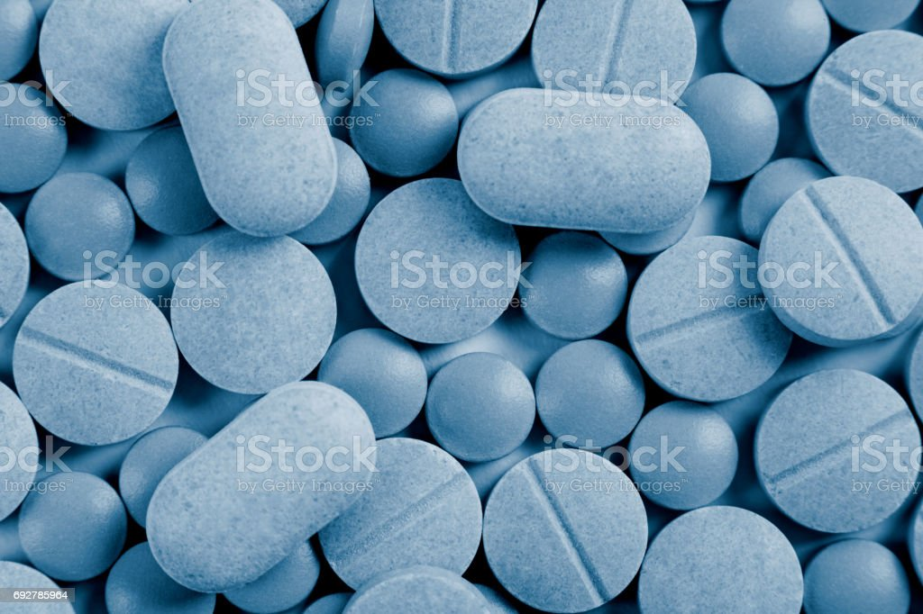Medicine Pills And Tablets stock photo