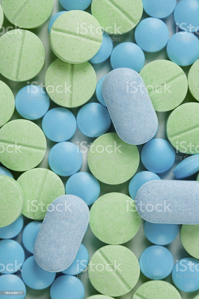Medicine Pills royalty-free stock photo