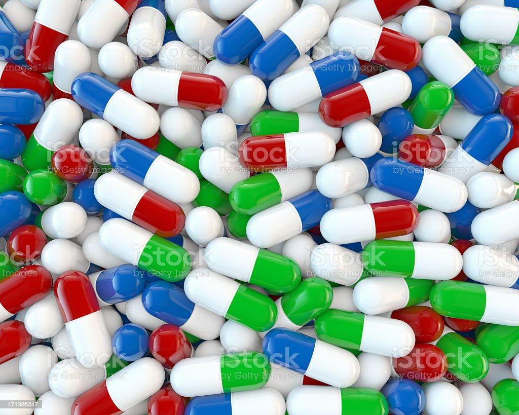 Medicine Pills royalty-free stock photo