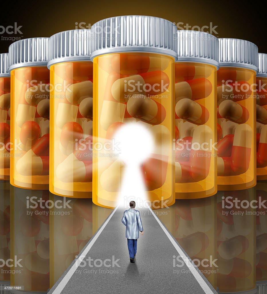 Medicine Research stock photo