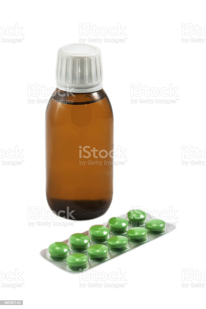 Medicine set royalty-free stock photo