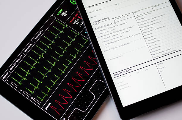 Medizin-software auf digitale Tablet – Foto