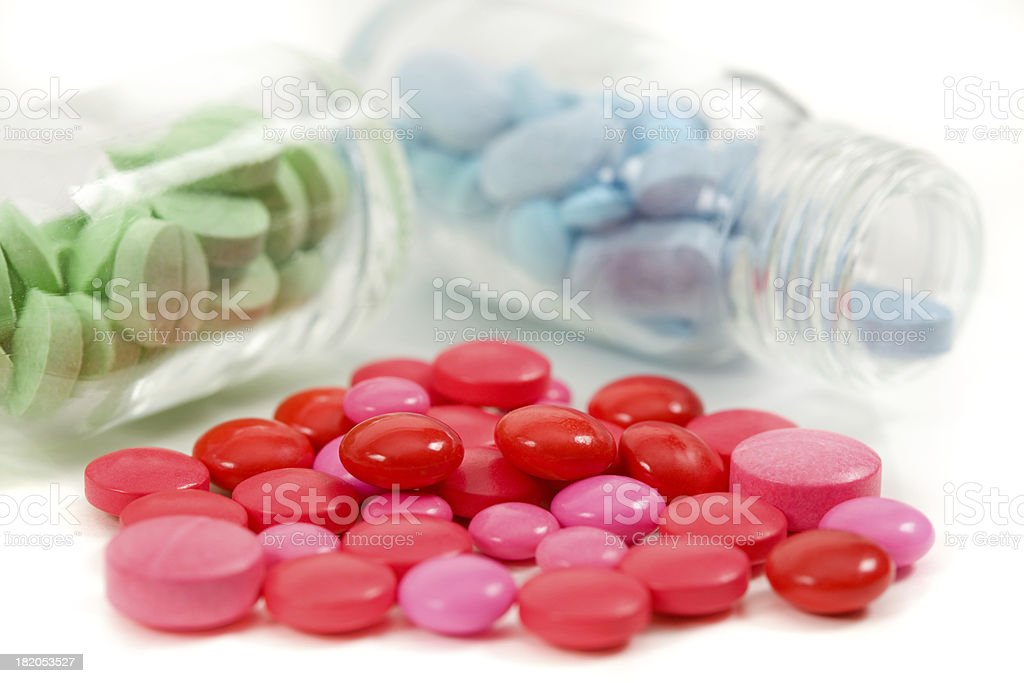 Medicine Tablets royalty-free stock photo
