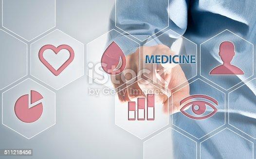 istock Medicine / Touch screen concept (Click for more) 511218456