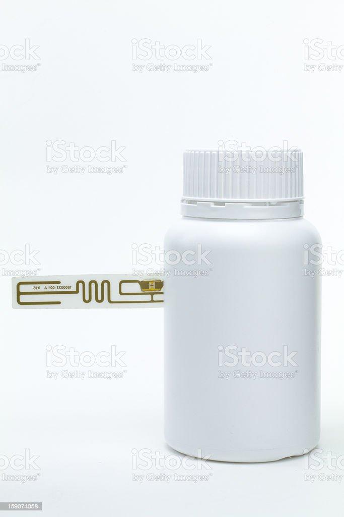 RFID Medicine Tracking stock photo
