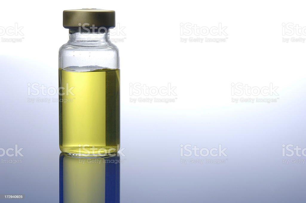 Medicine Vial royalty-free stock photo