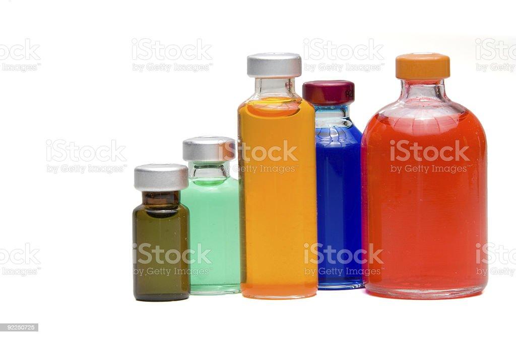 Medicine Vials royalty-free stock photo