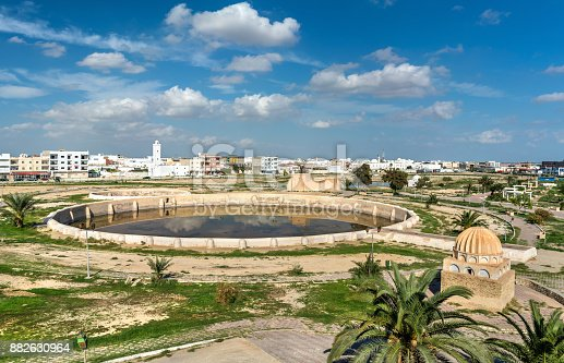 istock Medieval Aghlabid Basins in Kairouan, Tunisia 882630964