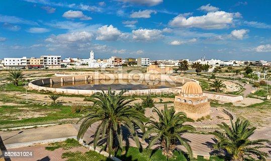 istock Medieval Aghlabid Basins in Kairouan, Tunisia 882631024