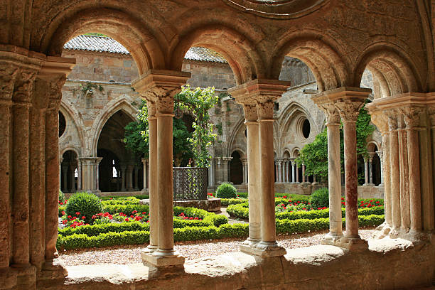 Medieval architecture  abbey monastery stock pictures, royalty-free photos & images