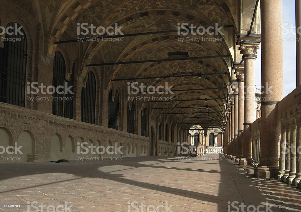 Medieval Archway royalty-free stock photo