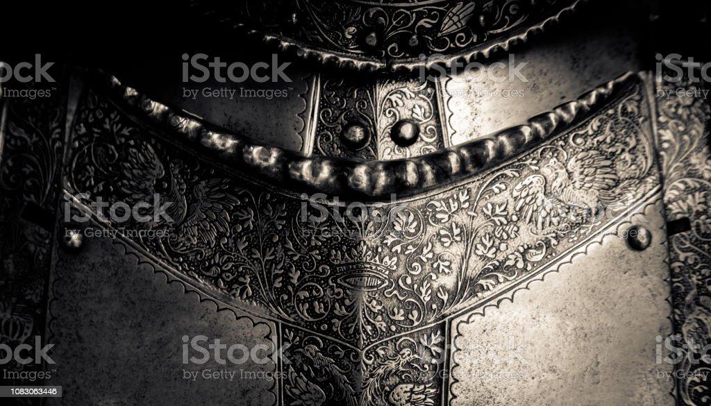 Medieval Armor Detail stock photo