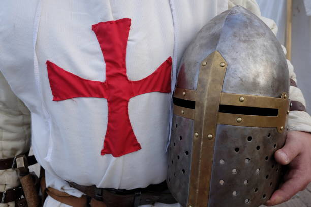medieval armor - knights templar stock pictures, royalty-free photos & images