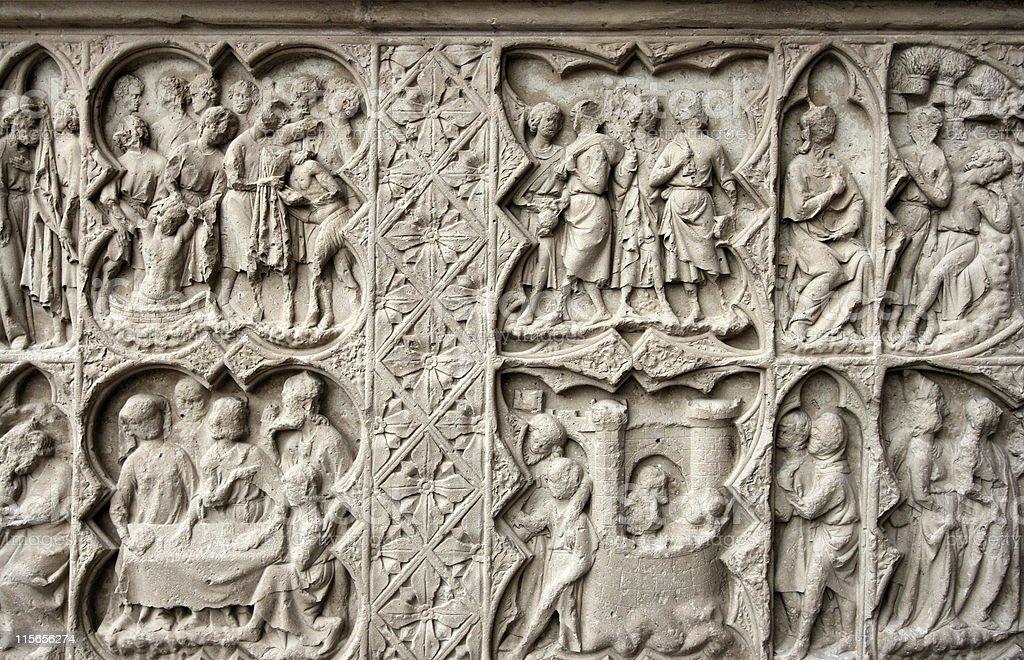 art Auxerre cathédrale médiévale de - Photo