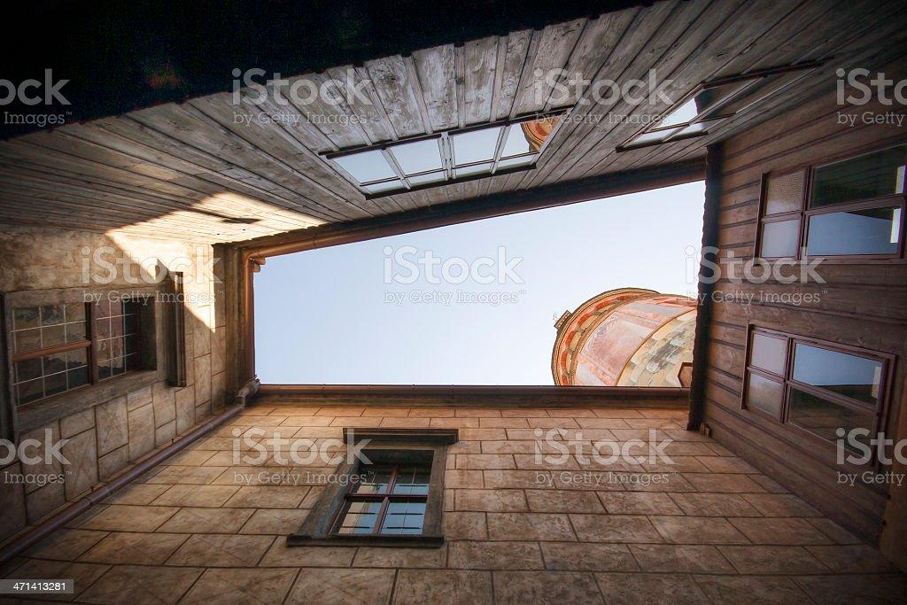 Medieval Atrium stock photo