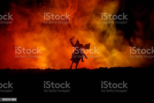 Medieval battle scene with cavalry and infantry silhouettes of as picture id935091686?b=1&k=6&m=935091686&s=612x612&h=kzyosqa7i36jenhbfipmq9kurzkjdqe nabnbyc1ady=