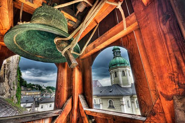 Mittelalterliche Bell Tower – Foto