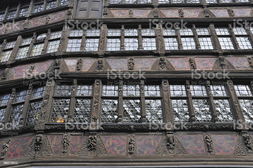 Medieval Building Detail royalty-free stock photo