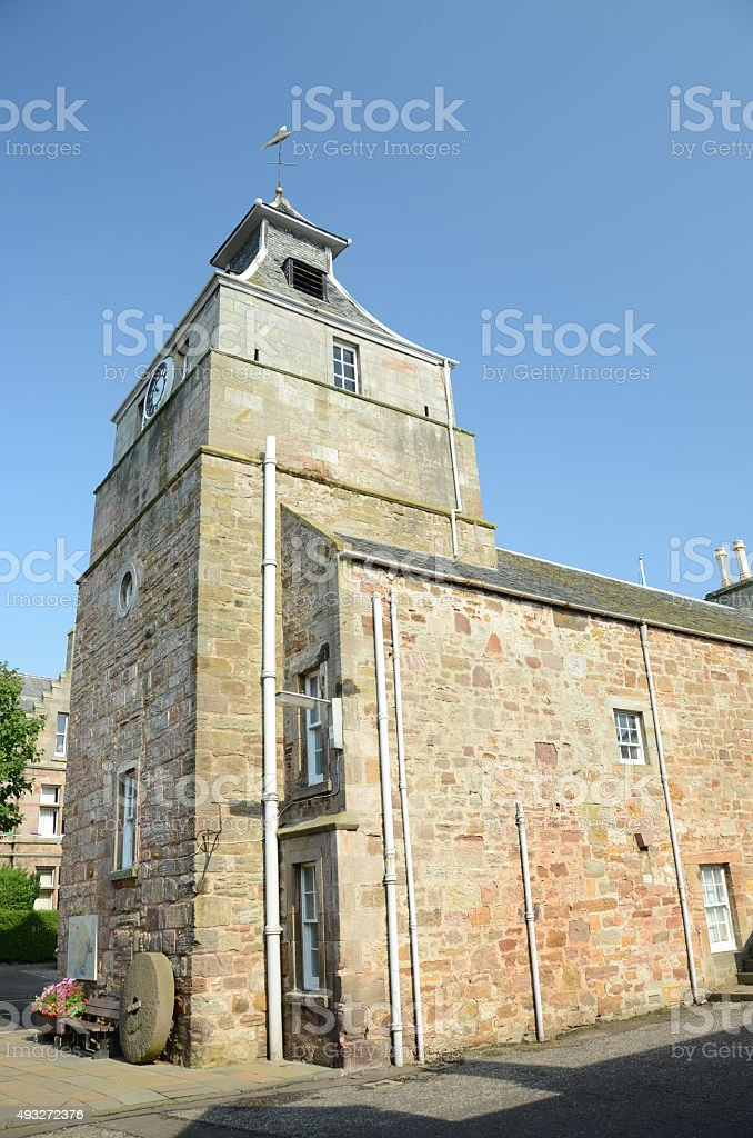 Medieval Building stock photo