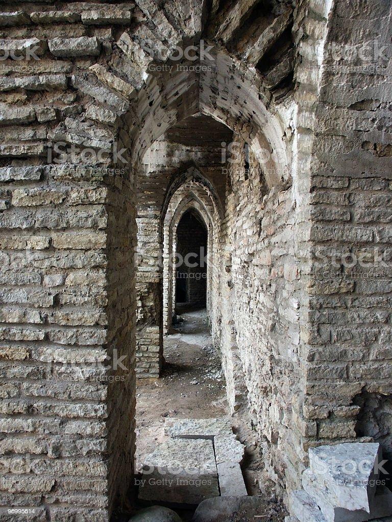 Medieval Castle in Rakvere stock photo