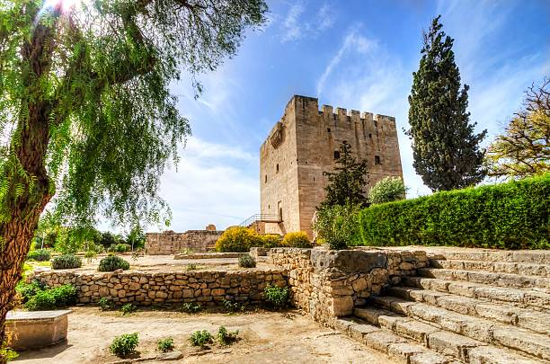 Mittelalterliche Burg Kolossi, Limassol, Zypern – Foto