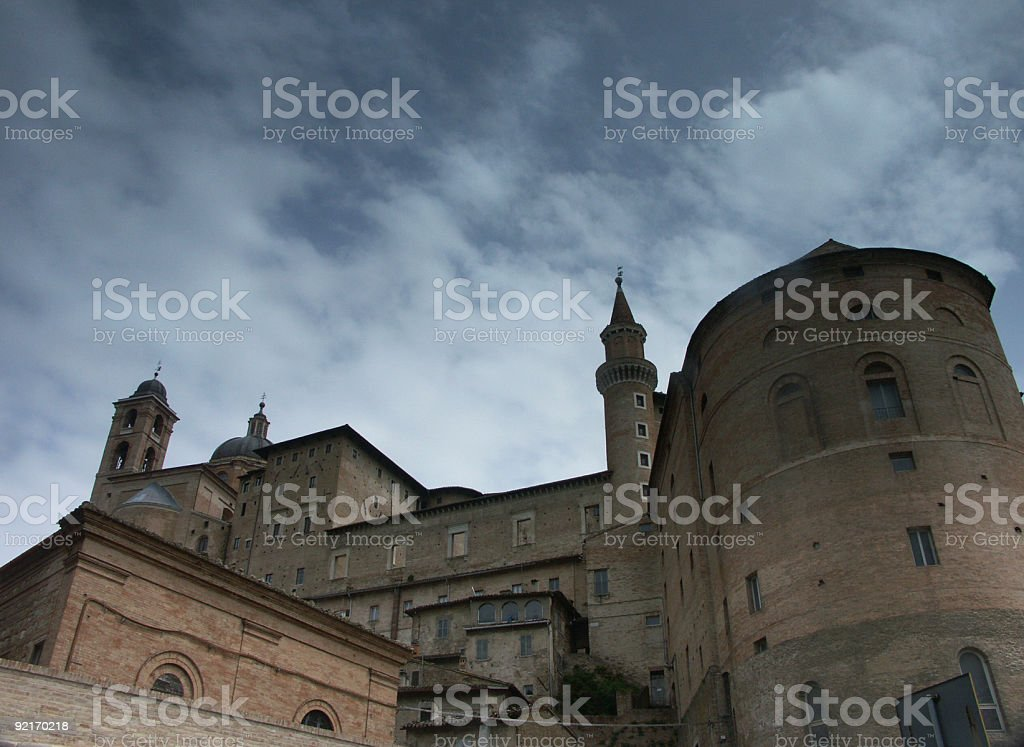 Medieval castle. royalty-free stock photo