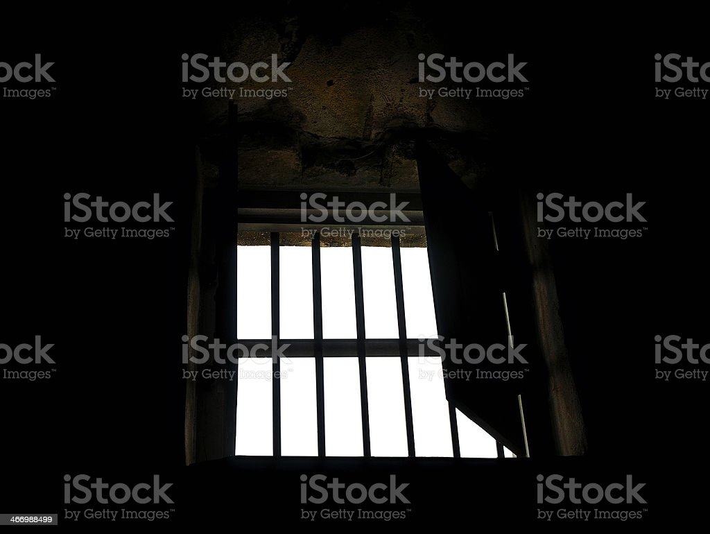 Medieval Castle Window royalty-free stock photo