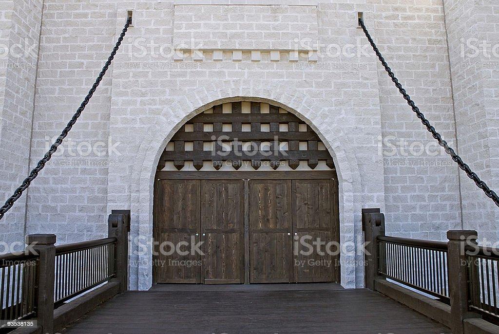 Medieval Castle4 stock photo