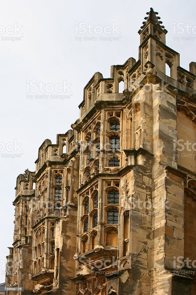 Medieval Church 02 stock photo