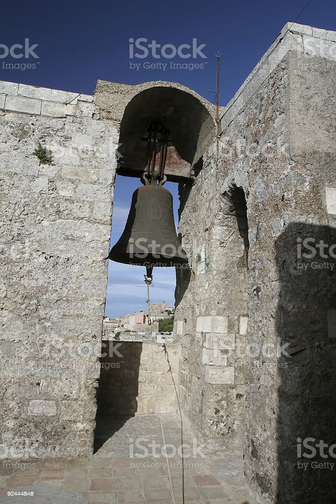 Medieval Church Bell royalty-free stock photo