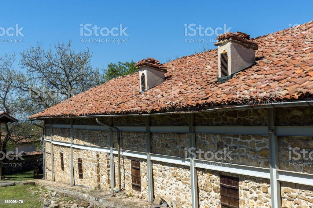Medieval Church of Nativity in Arbanasi, Veliko Tarnovo Region, Bulgaria stock photo